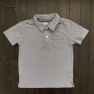 OshKosh short sleeve striped Polo shirt 3T